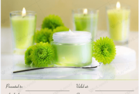 Spa Day Gift Certificate Template 11