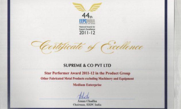 Star Performer Certificate Templates 8