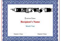 Free Certificate Templates For Word 2007 11 (3)