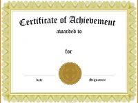 014 Template Ideas Award Templates Certificate Of Striking regarding Template For Certificate Of Award