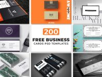 200 Free Business Cards Psd Templates – Creativetacos intended for Calling Card Psd Template