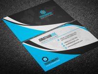 200 Free Business Cards Psd Templates – Creativetacos regarding Calling Card Psd Template