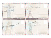 4 Free Printable Postcards From Around The World | Mfw Countries And in Sparklebox Postcard Template
