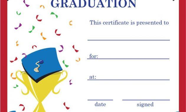 5Th Grade Graduation Certificate Template 11