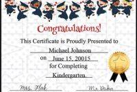 5Th Grade Graduation Certificate Template 8
