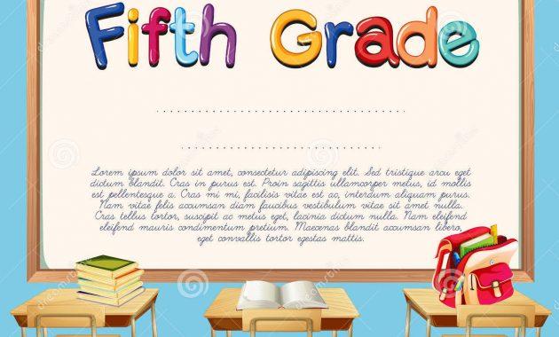 5Th Grade Graduation Certificate Template 9