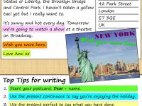 A Postcard From New York | Learnenglish Teens – British Council with regard to Wish You Were Here Postcard Template