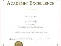 Academic Award Certificate Template Awesome Awards And Certificates intended for Academic Award Certificate Template