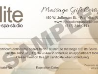 Awesome Collection For Spa Day Gift Certificate Template On Form in Spa Day Gift Certificate Template
