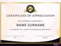 Certificate Of Appreciation Template Word 30 Free Templates And within Free Certificate Templates For Word 2007