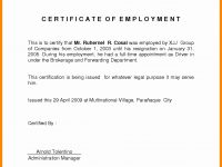 Certificate Of Employment Template Best Of Sample Certificate 32 throughout Template Of Certificate Of Employment