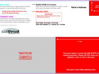 Cutthroat Printprint Your Postcards At Cutthroat Print! with regard to 6X9 Postcard Template