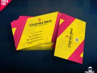Download] Creative Business Card Free Psd | Psddaddy in Calling Card Psd Template