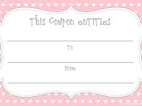 Early Play Templates: Free Gift Coupon Templates To Print Out inside Fillable Gift Certificate Template Free