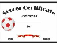 Editable Soccer Award Certificates Template Kiddo Shelter Blank Free throughout Soccer Award Certificate Template