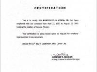Employment Certificate Sample Best Templates Pinterest Marriage regarding Template Of Certificate Of Employment