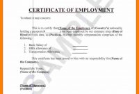 Format Of Certificate Of Employment – Yeder.berglauf-Verband with Template Of Certificate Of Employment