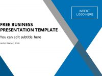 Free Business Presentation Template pertaining to Free Powerpoint Presentation Templates Downloads