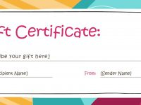 Free Editable Gift Certificates – Yeder.berglauf-Verband regarding Fillable Gift Certificate Template Free
