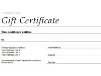 Free Gift Certificate Templates You Can Customize in Spa Day Gift Certificate Template