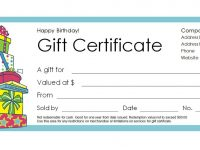 Free Gift Certificate Templates You Can Customize regarding Fillable Gift Certificate Template Free