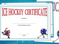 Free Hockey Certificate Templates For Download intended for Hockey Certificate Templates