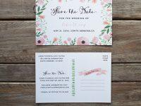 Free Printable Diy Save The Date Postcard | Outhouse | Diy Save The inside Save The Date Postcards Templates