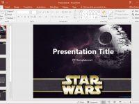 Free Star Wars Powerpoint Template inside Powerpoint Templates War
