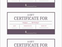 Gift Card Template Free Pleasant Free Gift Certificate Template in Fillable Gift Certificate Template Free