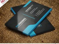 Graphic Designer Business Card Template Free Psd | Psdfreebies for Calling Card Psd Template