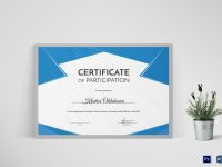 Hockey First Place Certificate Template in Hockey Certificate Templates