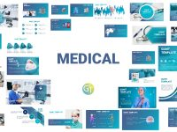 Medical Powerpoint Templates Free Downloadgiant Template On Dribbble with regard to Powerpoint Template