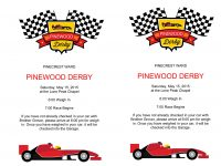 Microsoft Word – Pinewood Derby Flyer.docx | Scouts | Pinewood Derby intended for Pinewood Derby Certificate Template