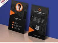Modern Corporate Business Card Template Free Psd | Psdfreebies pertaining to Calling Card Psd Template