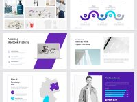 Nelima – Modern & Minimal Presentation Powerpoint Template #68747 intended for Powerpoint Template