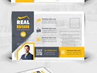 Pinbest Graphic Design On Postcard Templates | Real Estate inside Property Management Postcards Templates