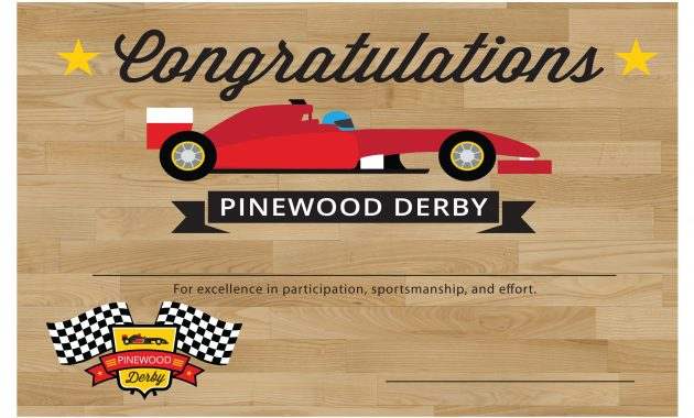 Pinewood Derby Certificate Template – Bizoptimizer intended for Pinewood Derby Certificate Template