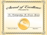 Png Certificates Award Transparent Certificates Award Images within Template For Certificate Of Award