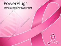 Powerpoint Template: Pink Ribbon For Fighting Breast Cancer With with regard to Breast Cancer Powerpoint Template