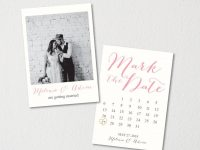Save The Date Calendar Template/save The Date Postcard Printable for Save The Date Postcards Templates
