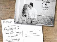 Sensational Save The Date Postcard Template Ideas Etsy Diy Templates regarding Save The Date Postcards Templates