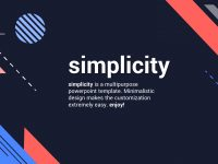 Simplicity 3.0 – Premium And Easy To Edit Template for Powerpoint Template