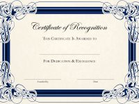 Sports Cetificate | Certificate Of Recognition A4 Thumbnail pertaining to Running Certificates Templates Free