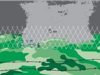 War Theme Powerpoint Templates – Green, Industrial, Objects, Silver throughout Powerpoint Templates War