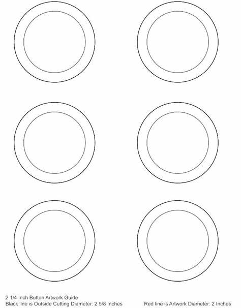 Button Template For Word 1