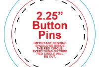 Button Template For Word 4