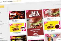 15 Free New Templates For Your Digital Menu Board regarding Digital Menu Templates Free