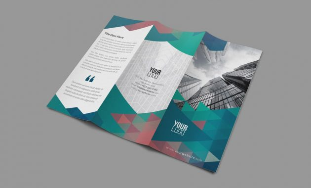 23 Best Trifold Brochure Templates & Examples (Word with Tri Fold Menu Template Photoshop