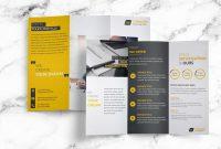 25 Tri-Fold Brochure Templates – Psd, Ai & Indd (Free within Tri Fold Menu Template Photoshop