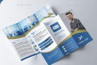 45 Best Psd Tri-Fold Brochure Templates | Pixel Curse in Tri Fold Menu Template Photoshop